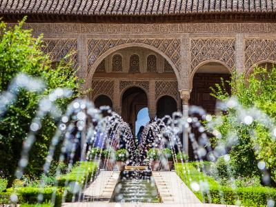 Alhambra's fountains