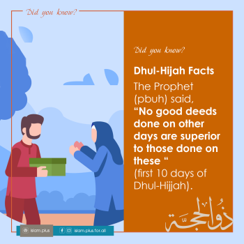 Dhul-Hijah Facts – 1