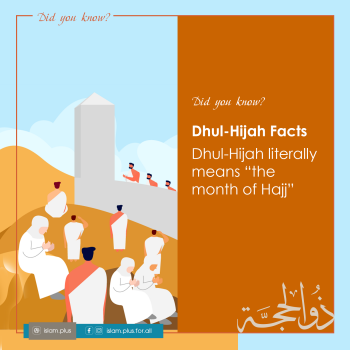 Dhul-Hijah Facts – 2