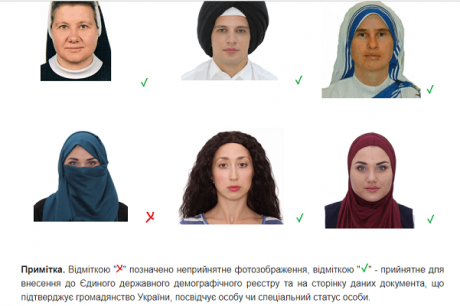 Many Muslim women have already taken the opportunity to take an ID picture wearing hijab