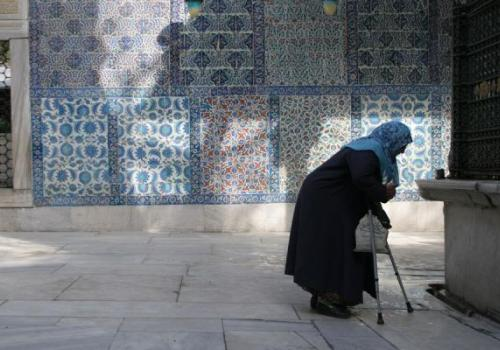 The Prophet Muhammed made it clear the importance of respecting older people
